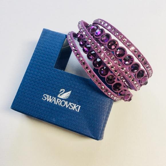 Swarovski Slake dot bracelet